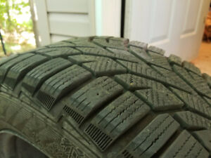 Gislaved NordFrost 205/60R16 Winter Tires With Steel Like New