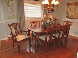 Unique Heirloom Style Dining Room Set