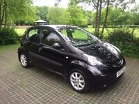 Toyota Aygo Black great condition many extras