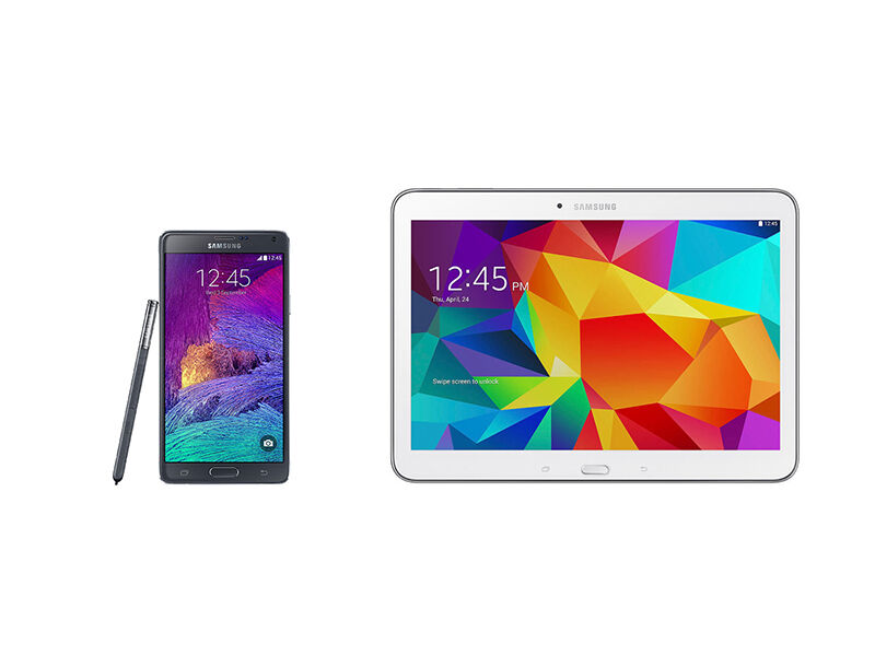 Samsung Phablet vs. Tablet