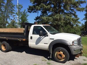 2005 Ford F 550 turbo diesel 4x4