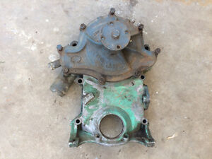 1968 Pontiac 8 Bolt Timing Cover & Water Pump GTO Firebird 400