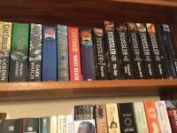 Clive Cussler paperbacks
