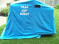 Clam Fish Trap Shelter / with travel cover