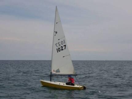 Micron 3 sailboat Richmond Yarra Area Preview