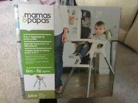 Mamas and Papas juice highchair