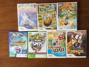 Nintendo Wii and Xbox games