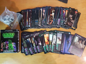 Star Wars Trading Card Game Lot (Over 100 cards) Rare Luke