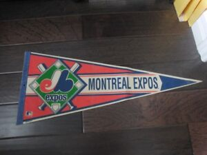 Montreal Expos Vintage MLB Banner