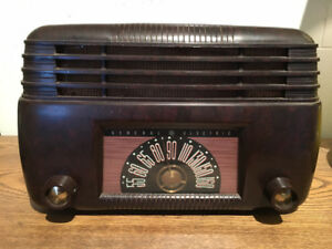 RADIO ANTIQUE GENERAL ELECTRIC ****RÉTRO 1947****