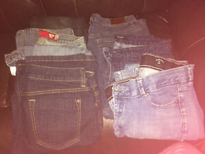 Size 12 jeans 6 pairs