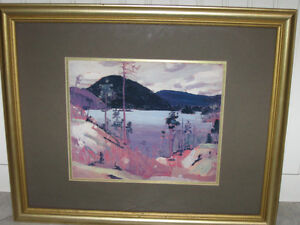 ....A Beautiful Water Colour...Professionally Framed....