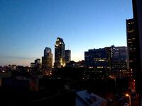 Vue avec balcon privé / Metro Square-Victoria