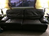 Leather, electric used couch need gone tonight