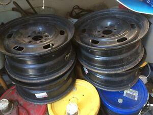 """4x rims , roues en acier Dodge néon original 5-100 15"""""""