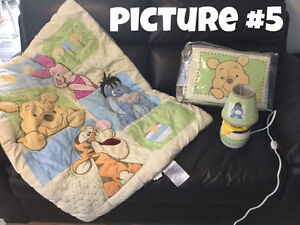 Baby Stuff- car seats, Exersaucer, activity table and bedding Moose Jaw Regina Area image 4
