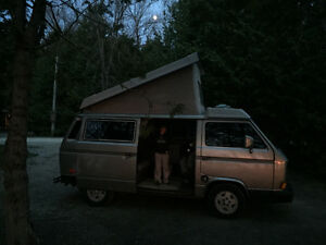 Wesfalia Camper Van with Subaru conversion