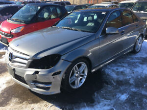 2012 Mercedes C300 4Matic just in for sale at Pic N Save!