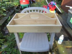 WOOD TOTE BOX - REDUCED!!!!