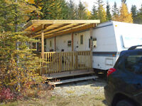 Raymond Shores Vacation Lot with Trailer