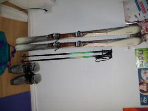 160 cm Alpine Ski package/Ski Alpin