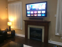 TV Wall Mounting Installation by Licensed Professional