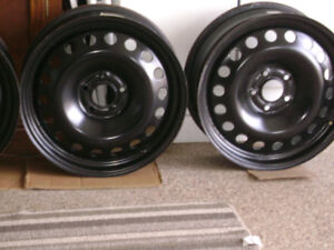 17 x 6.5J Rims with 5-110mm Bolt Pattern 70.1 mm CB