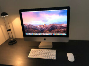 "iMac 21.5"" Slim Model late 2014 with Microsoft Office"