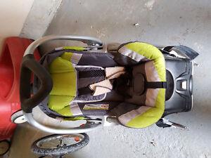 Car seat stroller combo