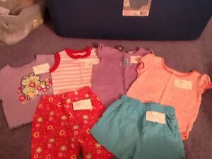 Baby girl summer clothes, 12 months