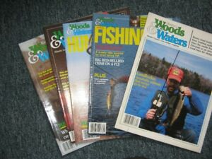 Woods and Waters Magazines from 80/90s
