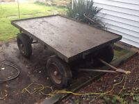 Luggage baggage wagon used