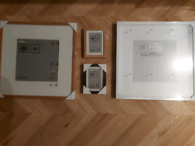 4 IKEA picture frames (as new)