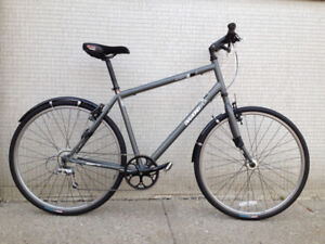 TALL Persons Hybrid 9SP Bike 6 Foot + w/ 700c And Fenders - MXB