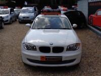 BMW 1 SERIES 116d SPORT 5dr White Manual Diesel, 2009