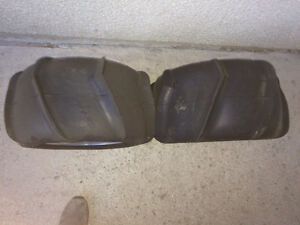 Sand paddle tires