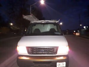 2007 Ford extended cargo van