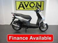 Sym Symply 125 II 125 Scooter 2 Commuter Scooter Automatic Motorcycle Twist and