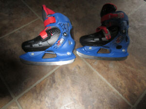 spiderman skates size 12-2