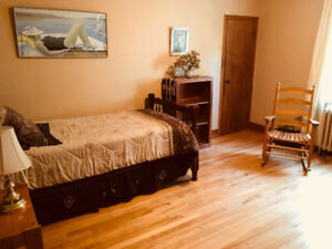 LARGE SUNNY ROOM Central Halifax JAN 1 or NOW