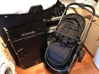Icandy strawberry 2 complete pushchair with carrycot