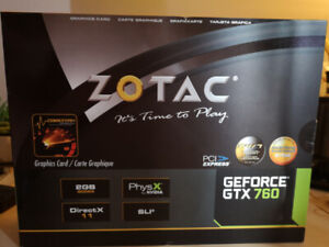 GTX760 Gaming Graphics Card - Used