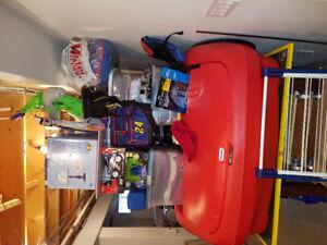 Boys furniture, clothes, toys