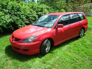 REDUCED - 2004 Lancer Sportback Ralliart Wagon