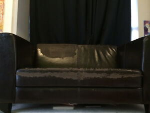 Old Structube Loveseat Couch