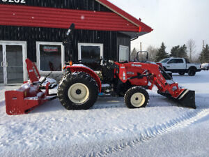 """SPECIAL 30HP 4x4 & loader & 64"""" Blower NO payments till June 1st"""