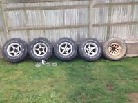 4x4 wheels and tires