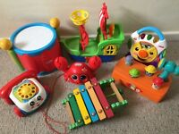 Childrens toy bundle fisher price little tikes
