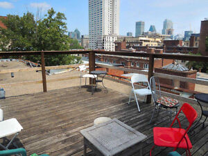 Summer: Furnished room in sunny 6 1/2, all Incl., June - August