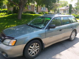 2000 outback  600$ negotiable